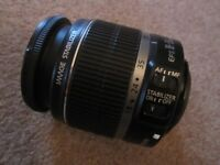 Canon EF-S Zoom Lens 18-55mm Image Stabilizing