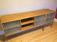 VINTAGE IKEA SIDE BOARD AND CABINET