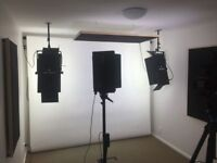 Polyester Studio & Home Theatre Acoustic Panels - PAIR