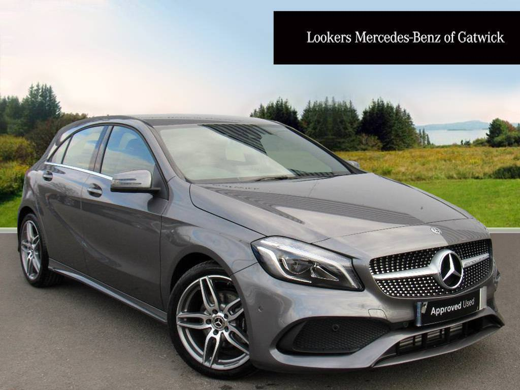 mercedes benz a class a 180 d amg line premium grey 2018 03 12 in crawley west sussex gumtree. Black Bedroom Furniture Sets. Home Design Ideas