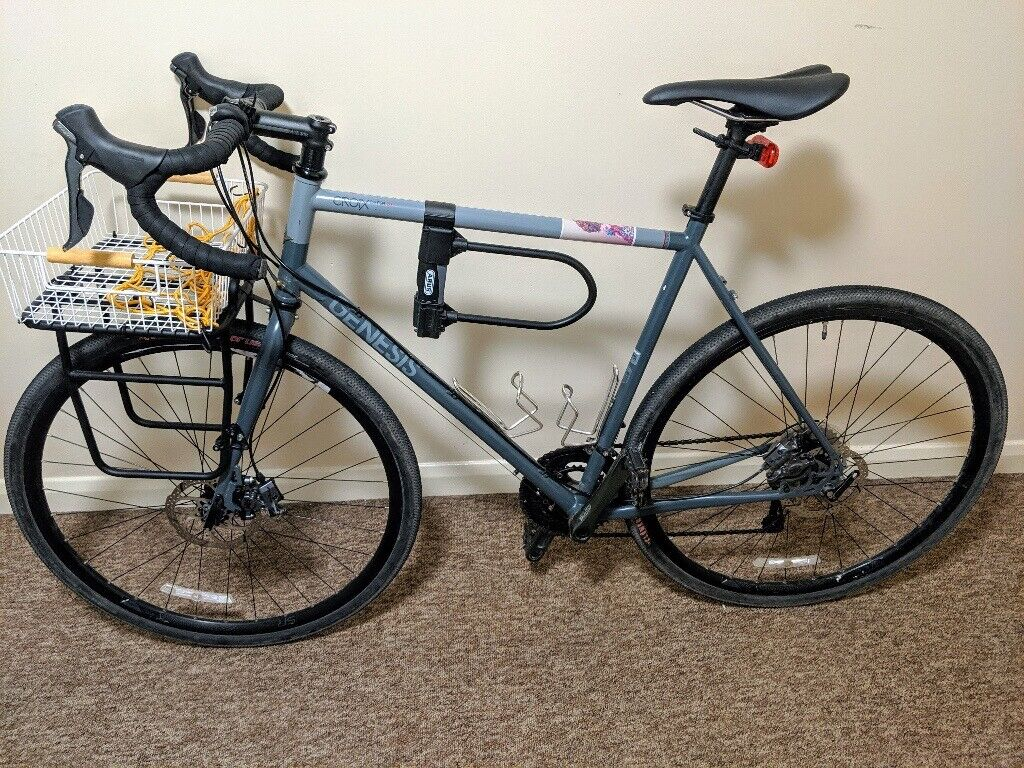 Genesis Croix De Fer 20 Bike With Specialized Pizza Rack Abus Bike Lock And Front And Rear Lights In Clifton Bristol Gumtree
