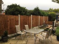 Vertical Fence Panels Pressure Treated Heavy Duty