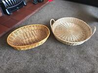 REDUCED MORE WICKER BASKETS
