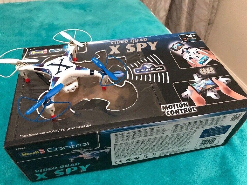 Revel RC Video quad X SPY drone
