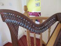 GLENLUCE 29 String Harp.