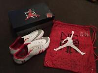 Genuine neymar Jordan's football boots size 9