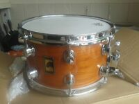 """snare drum mapex black panther 12 x 7 cherry and maple. pro 12""""x 7"""" still in box"""
