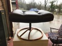 Vintage Ekornes stool