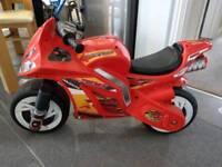 Child's Toys 'R' Us ride on bike