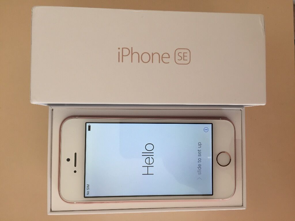 iphone se 64gb rose gold ee boxed brand new never used unwanted upgrade in kidderminster. Black Bedroom Furniture Sets. Home Design Ideas