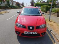 2008 SEAT IBIZA 1.2 FREERIDER 3 DOOR TAX MOT HPI CLEAR BARGAIN