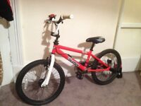 BMX Burner Bike - Red as good as new