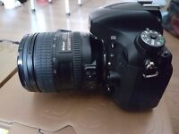 Nikon D610 with lens, flash and accessories - excellent condition, selling to switch camera system