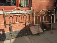 2 X SINGLE HEADBOARDS IN VERY GOOD CONDITION FROM SMOKE/PET FREE HOUSE