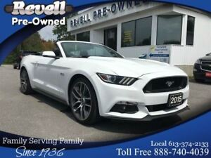 2015 Ford Mustang GT Premium *1-owner  Leather   Nav    Only 24k