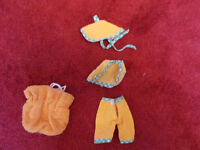 Fairie Glen 1960s beach outfit for Sindy doll