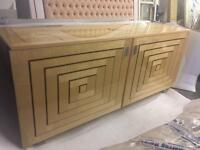 Dining room sideboard, lacquered Italian.