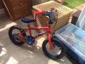 14 inch Spider-Man bike
