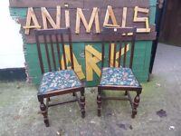 Dining Chair Set Extra chairs for Christmas £10