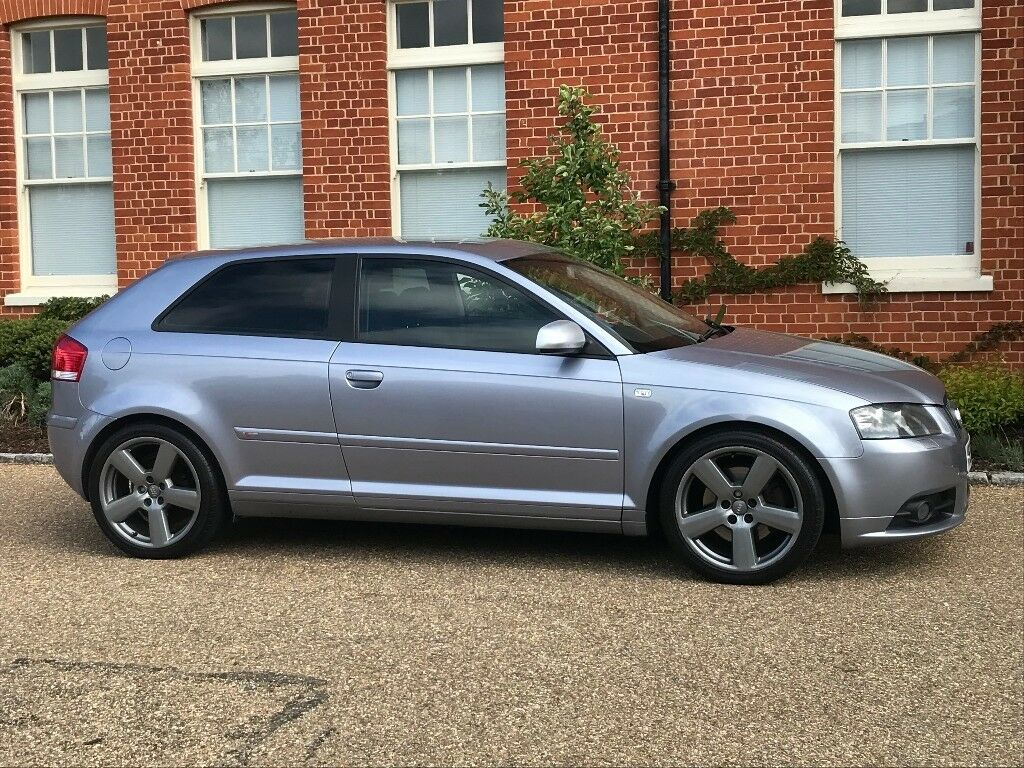 2005 audi a3 8p s line 3 door 2 0 tdi dsg with paddleshift diesel auto in braintree essex. Black Bedroom Furniture Sets. Home Design Ideas