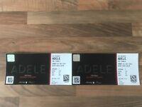 2 * Adele Tickets - Wembley - Sunday 02/07
