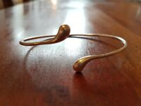 tiffany tear shape bracelet