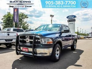 2010 Dodge Ram 1500 ST QUAD CAB 4X4, BLUETOOTH, POWER WINDOWS/ L