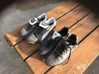 2 pairs of football boots puma kings and Umbro size 9 1/2 and 10 good condition