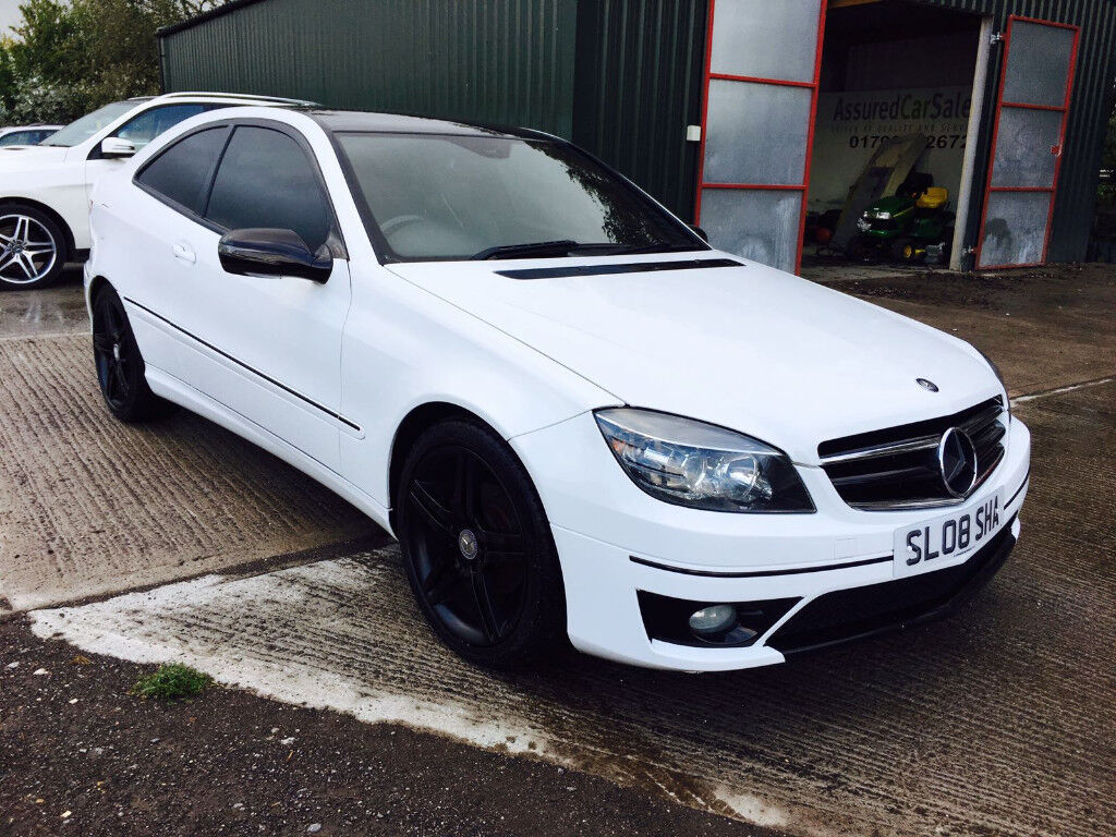 mercedes clc 220 cdi sport automatic wrapped in white in swindon wiltshire gumtree. Black Bedroom Furniture Sets. Home Design Ideas
