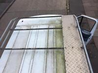 Transit roof rack and ladder set £50