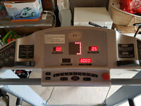 Treadmill for sale. 10 years old. However was hardly used and well maintained.