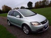 Volswagwn Golf Plus 1.9TDI PD Dune 5dr 2008 Special Edition