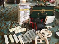 Nintendo wii with loads of accessories and games