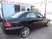 (AUTOMATIC)MERCEDES BENZ C CLASS C220 ,DIESEL,FULL HISTORY ,& M.O.T.......