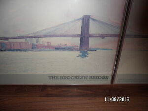 Brooklyn Bridge framed Strathcona County Edmonton Area image 3