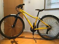 Pinnacle Cobalt Hybrid with Mudguards and Front Suspension Perfect Commuter Bike
