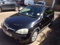 Vauxhall Corsa 1.4 SXI 04 plate in Black - Ideal first car - cheap tax + Insurance! Low mileage!