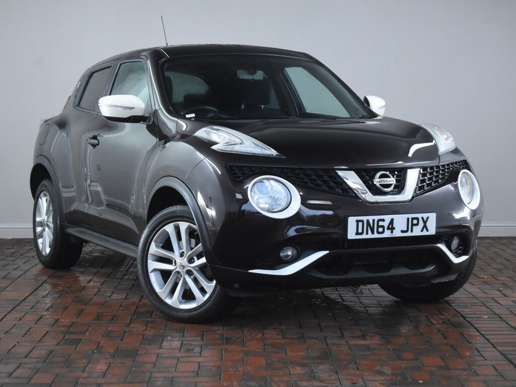nissan juke 1 2 dig t acenta premium 5dr black 2014 in winsford cheshire gumtree. Black Bedroom Furniture Sets. Home Design Ideas