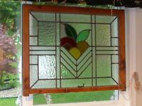 Art Deco Scottish stained glass windows