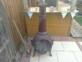 chimenea in used condition