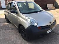 Nissan micra 2003 1.0 spares or repairs