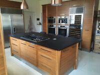 FOR SALE - Designer Bespoke Walnut Kitchen Units + High-End Appliances (2011)