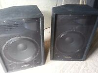 Phonic SEM715 2 Way Stage/Floor Monitor Speakers