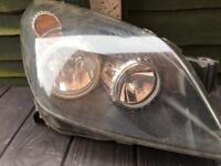 Astra H mk5 drivers side Headlight unit