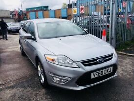 FORD MONDEO ESTATE 2.0 DIESEL TDCI TITANIUM 140 BHP MANUAL SILVER 1 OWNER 2011 DRIVES NICE