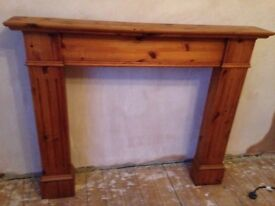 Fireplace surround (solid wood)