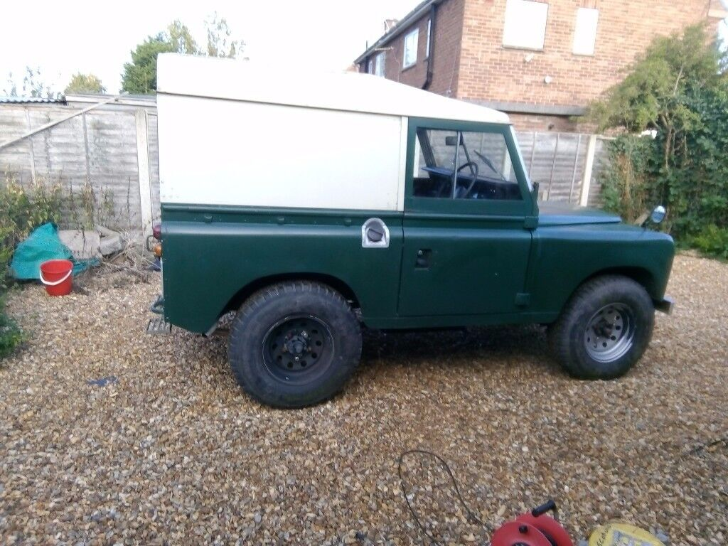 LAND ROVER SERIES 3 1972 DIESEL PROJECT
