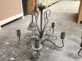 Pair of chandeliers