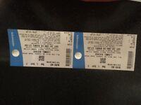 Lionel Richie concert tickets, Saturday 16th June Leigh Stadium, spare tickets due to illnesd