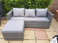 Rattan Furniture...4 piece set. Never been used